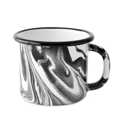 BORNN Enamelware Classic Marble Large Mug