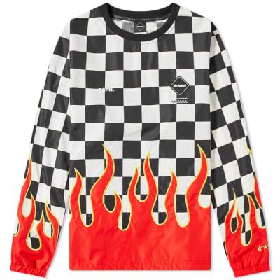 F.C. Real Bristol Checker Flame Piste