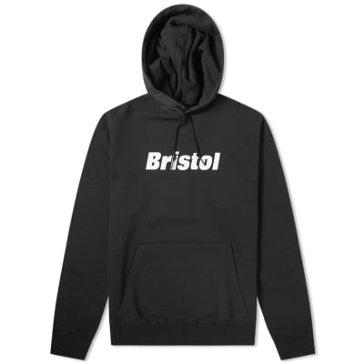 F.C. Real Bristol Fire Flame Pullover Hoody