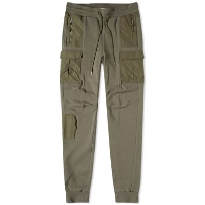 John Elliott Nylon Cargo Sweat Pant