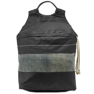 Rick Owens DRKSHDW Canvas Patch Backpack