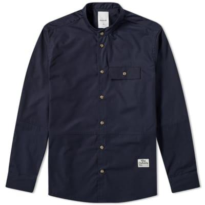 Wood Wood Alvaro Collarless Shirt