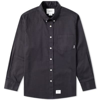 WTAPS Long Sleeve Button Down Shirt