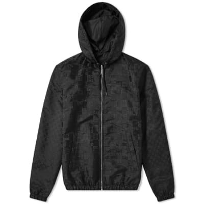 Givenchy 4G Jacquard Hooded Reversible Windbreaker