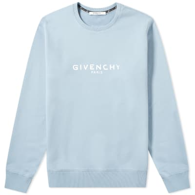 Givenchy Paris Logo Crew Sweat