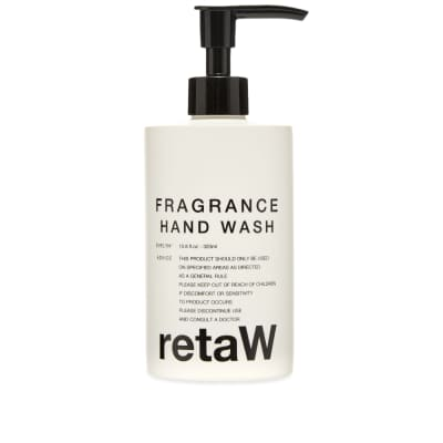 retaW Fragrance Hand Soap