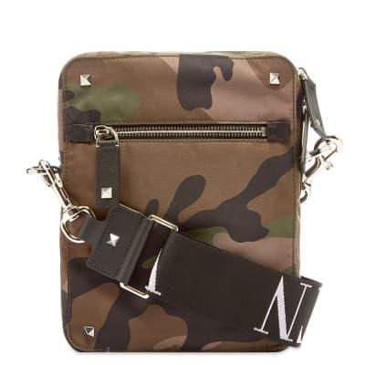 Valentino Camo VLTN Cross Body Bag