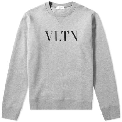 Valentino VLTN Logo Crew Sweat