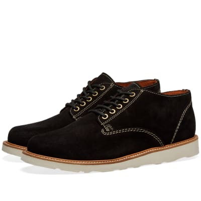 Wild Bunch Crepe Sole Classic 5 Eyelet Shoe