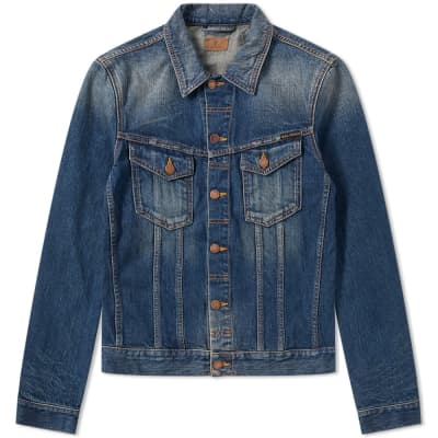 Nudie Billy Dark Authentic Denim Jacket