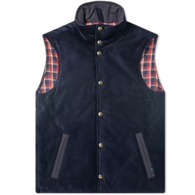 Bleu de Paname Horizon Corduroy Vest