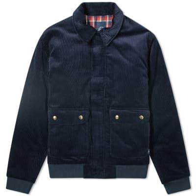 Bleu de Paname Two Pocket Corduroy Jacket