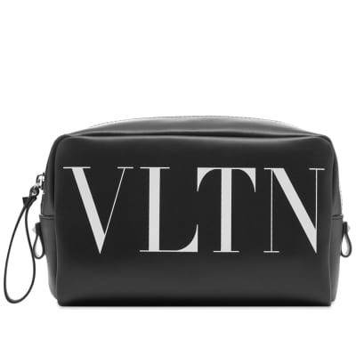 Valentino VLTN Leather Washbag
