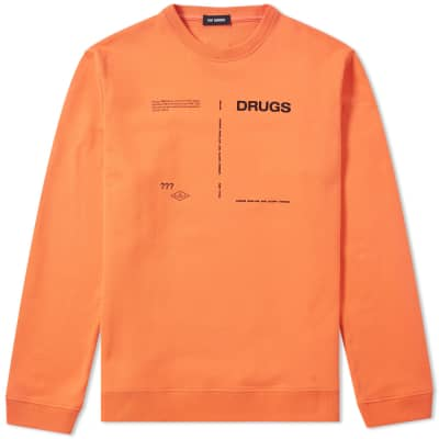Raf Simons Drugs Crew Sweat