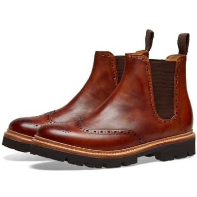 Grenson Arlo Commando Chelsea Boot