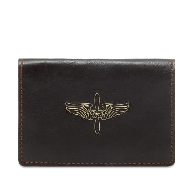 The Real McCoy's Horsehide Card Holder
