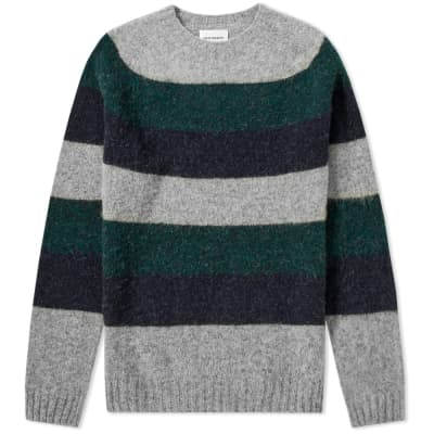Norse Projects Birnir Wide Stripe Knit