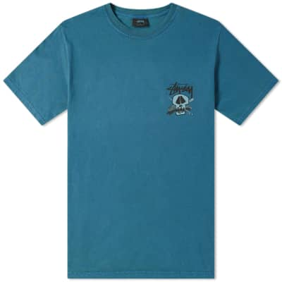 Stussy Surf Skull Pigment Dyed Tee