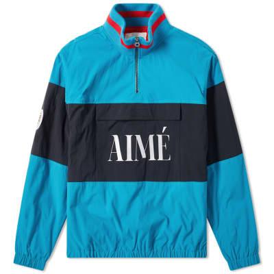 Aimé Leon Dore Logo Quarter Zip Popover Jacket