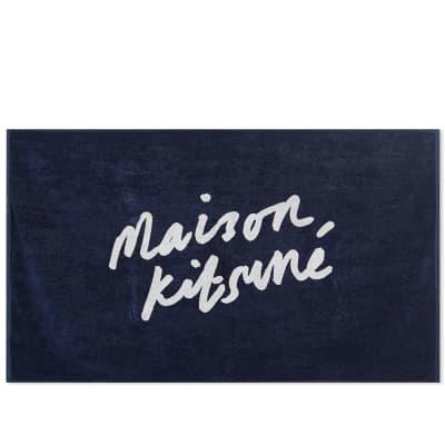 Maison Kitsuné Parisien Beach Towel