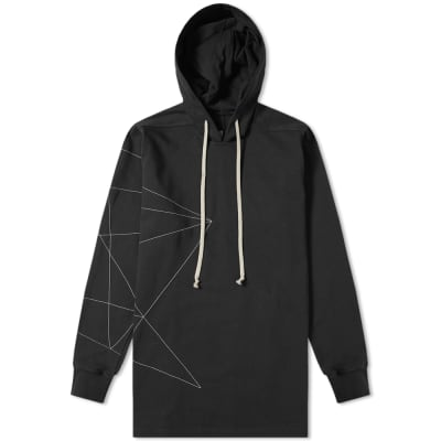 Rick Owens Embroidered Hoody