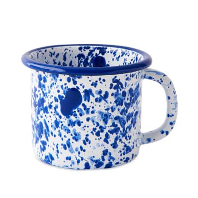 BORNN Enamelware Mediterranean Large Mug