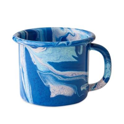 BORNN Enamelware New Marble Large Mug