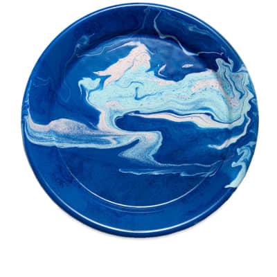 BORNN Enamelware New Marble Large Plate