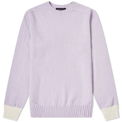 Howlin' Life in Reverse Crew Knit