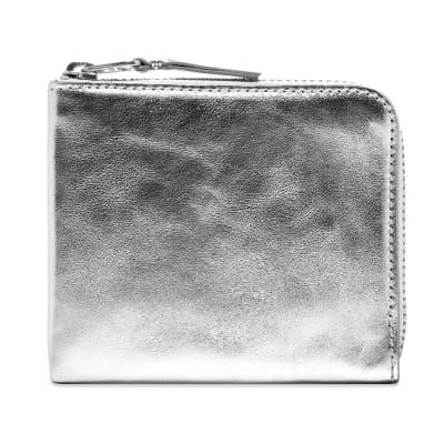 Comme des Garcons SA3100G Silver Wallet