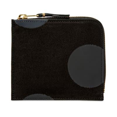 Comme des Garcons SA3100RD Rubber Dot Wallet