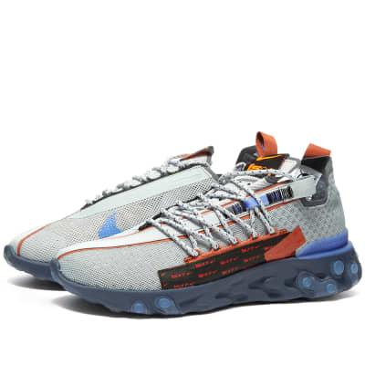 premium selection fafd0 4e2a7 Nike React ISPAWolf Grey, Sapphire & Peach$175