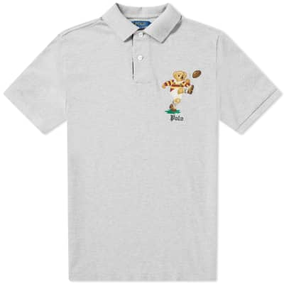 Polo Ralph Lauren Rugby Bear Embroidered Polo