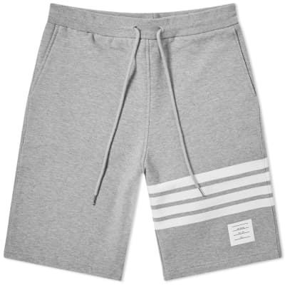 1a3fe202d3 Thom Browne Engineered Stripe Sweat Short