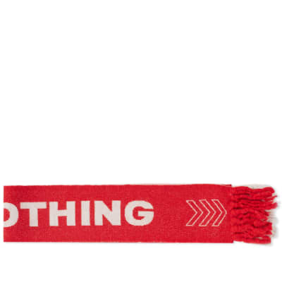 Lanvin Nothing Football Scarf