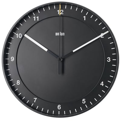 Braun 30cm Large Wall Clock
