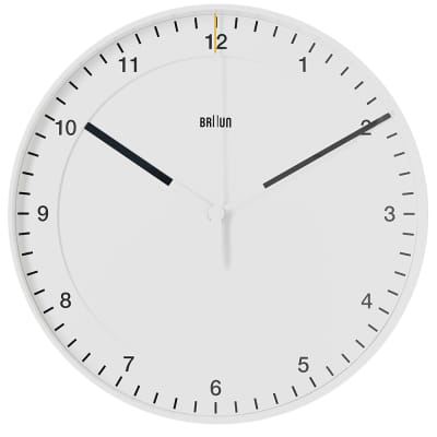 Braun 30cm Large Wall Clock