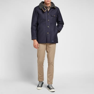 Bleu de Paname Double Counter Jacket