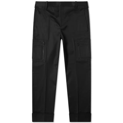 Neil Barrett Cotton Zip Cargo Pant