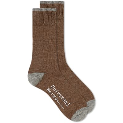 Universal Works Alpaca Sock