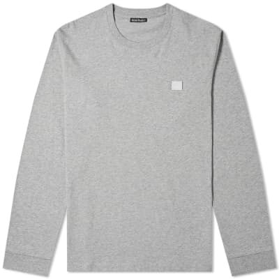 Acne Studios Long Sleeve Elwood Face Tee