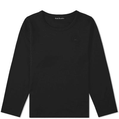 Acne Studios Mini Long Sleeve Nash Face Tee