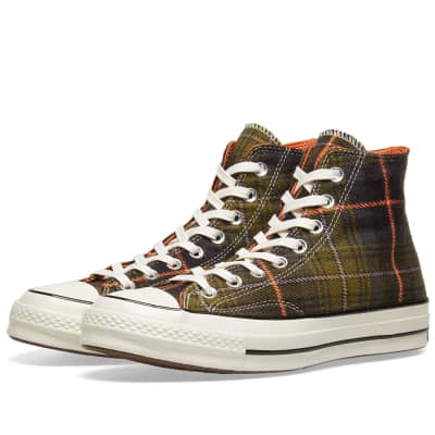 Converse Chuck Taylor 1970s Hi Luxury Plaid