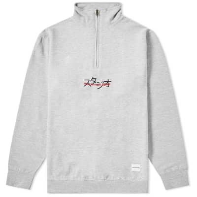 MKI Overlay Quarter Zip Sweat