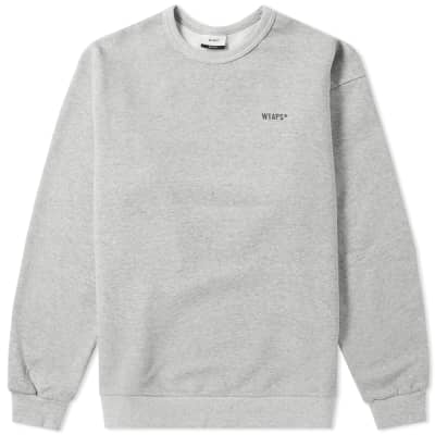 WTAPS GPS Screen Crew Sweat