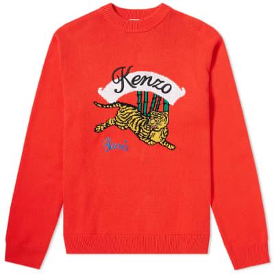 Kenzo Jumping Tiger Crew Knit