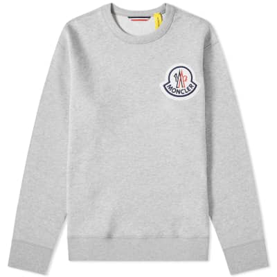 Moncler Genius - 2 Moncler 1952 - Large Logo Patch Crew Sweat
