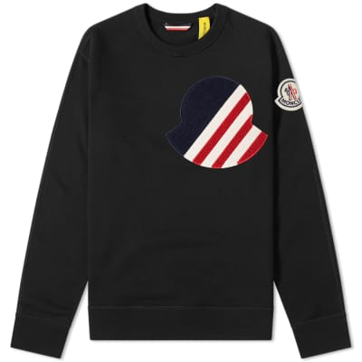 Moncler Genius - 2 Moncler 1952 - Large Tricolour Logo Sweat