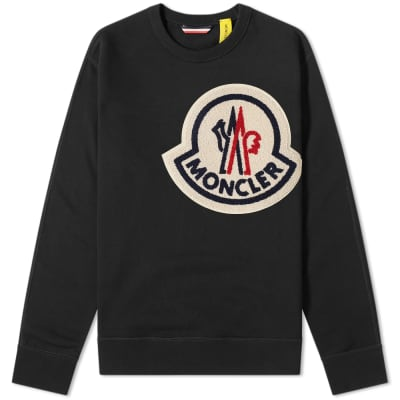 Moncler Genius - 2 Moncler 1952 - Oversized Patch Logo Crew Sweat