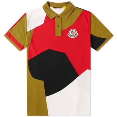 Moncler Genius - 2 Moncler 1952 - Patchwork Logo Polo